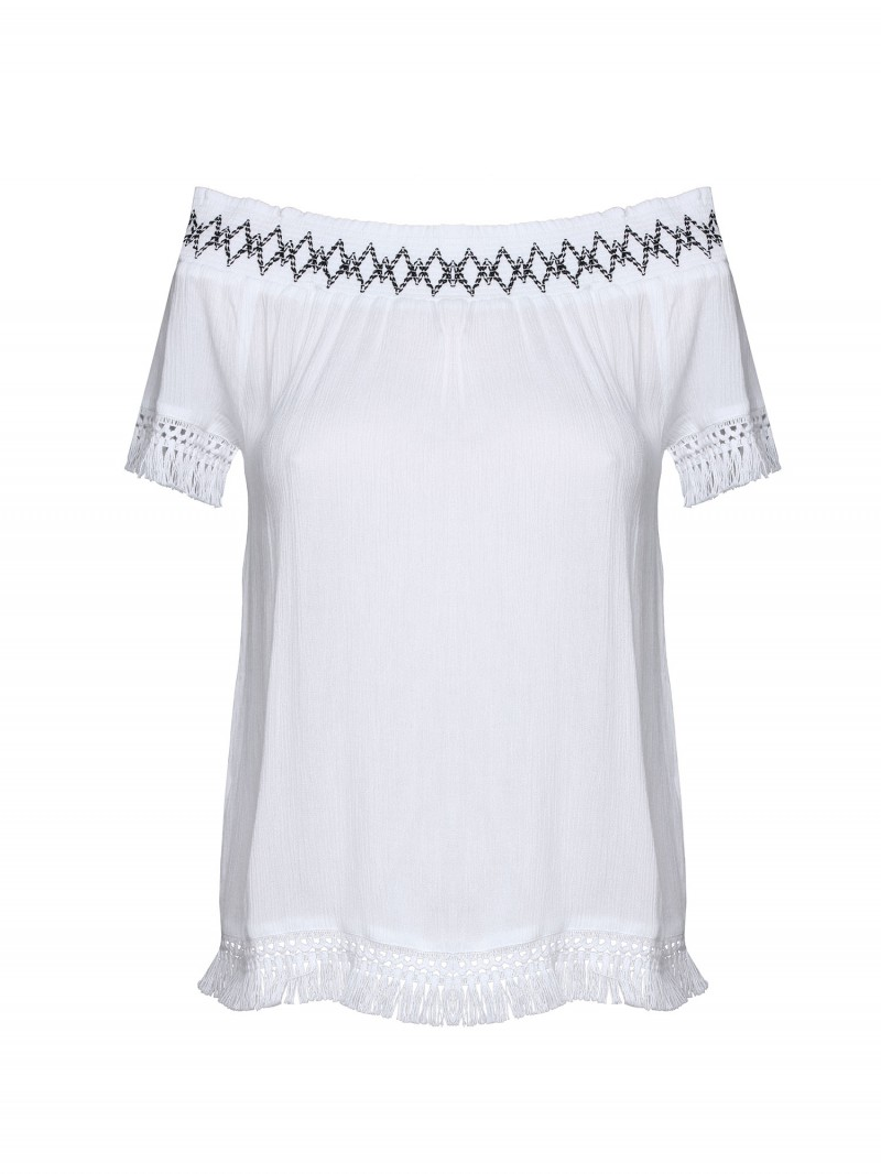 MOREA beachwear top